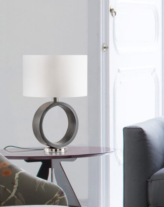 Tracey Ring Table Lamp Lifestyle
